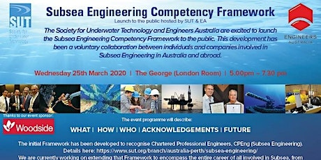 Subsea Engineering Competency Framework - Launch to the Public tickets