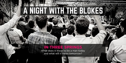 Tomorrow Man - A Night With The Blokes in Three Springs