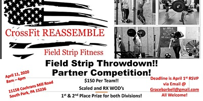 Field Strip Throwdown! Partner CrossFit Competition