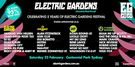 Electric Gardens Festival 2020 tickets