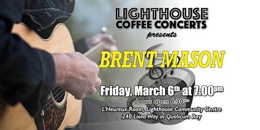 BRENT MASON Coffee Concert