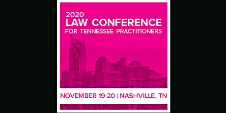 Law Conference for Tennessee Practitioners (ahm) S tickets
