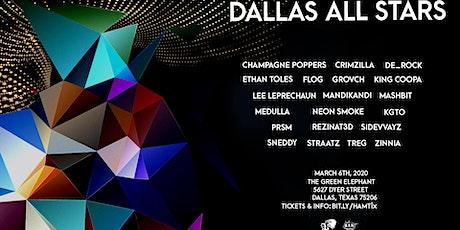 Dallas All-Stars @ The Green Elephant 3/6 tickets