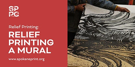 Relief Printing a Mural (5 sessions: 2 Tuesdays, 2 Wednesday, 1Thursday) tickets