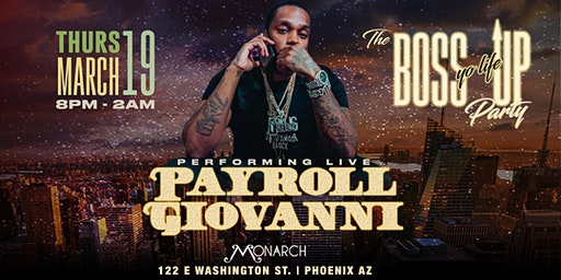 Payroll Giovanni Live at Monarch