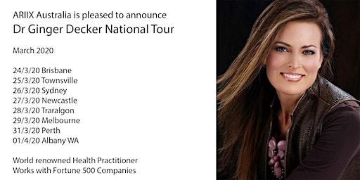 ARIIX Australia Dr Ginger National Tour Newcastle