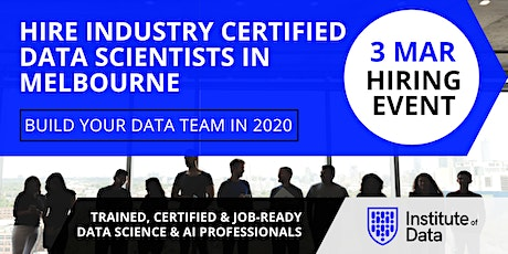 Exclusive Data Science Hiring Event - Melbourne - Mar 2020 tickets
