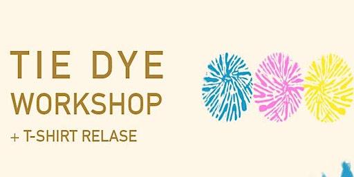 Good Faith Gallery Tie Dye Workshop & T-Shirt Release