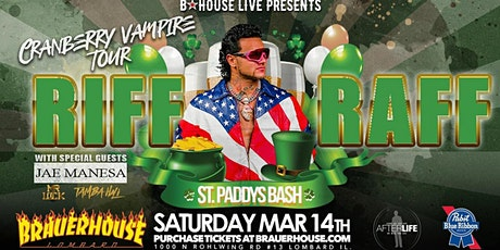Riff Raff St Paddy's Bash - March 14th (Meet & Greet Only) tickets