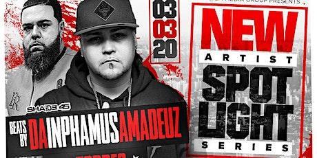 New Artist Spotlight Concert Series w/ Shade 45's Da Inphamus Amadeuz tickets