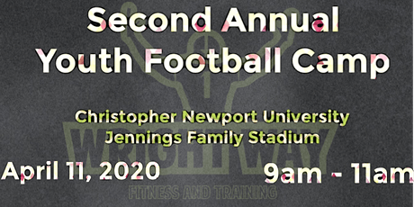 Second Annual Youth Football Camp tickets