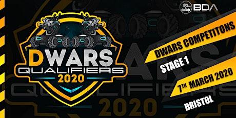 DWARS Battle - Competition - Participation- Registration tickets