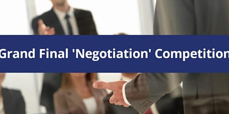 SOAS Negotiation Competition Grand Final 2020 tickets