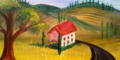 Acrylic Painting Class; Italian Landscape