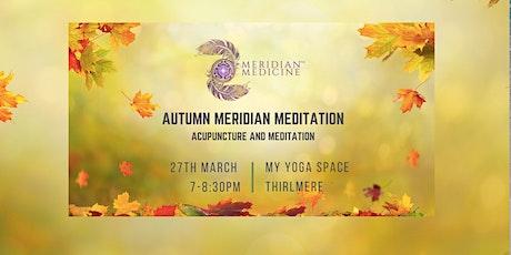 MERIDIAN MEDITATION - AUTUMN tickets