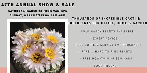 47th Annual Cactus & Succulent Society Show & Sale