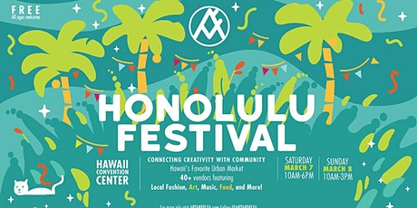 ART+FLEA at The Honolulu Festival 2020 tickets