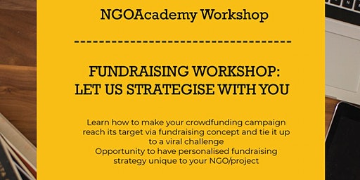 NGO Academy Fundraising Workshop: Let us Strategise With You