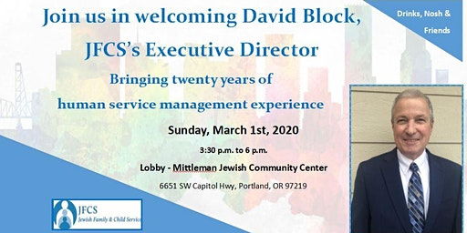 Welcome Reception for JFCS's new Executive Director