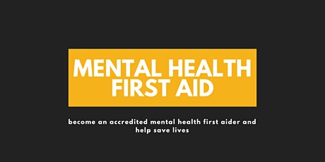 Mental Health First Aid- with Mind Over Matter tickets