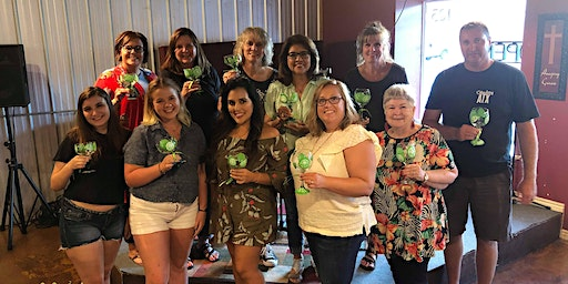 Wine Glass Painting Class at Landon Winery- Dallas 3/18 at 7pm