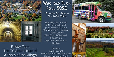 Wine and Plan Fall '20 tickets