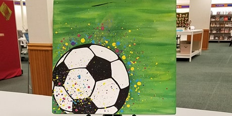 Painting - Ball in Play w/Pam tickets
