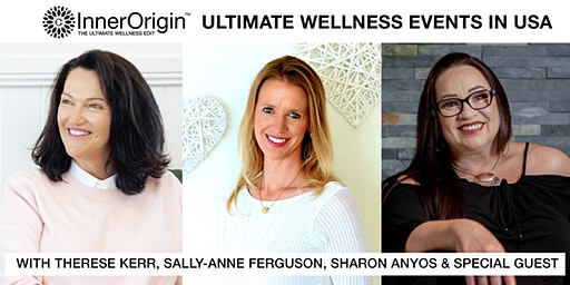InnerOrigin Wellness Event Therese Kerr, Sally-Anne Ferguson & Sharon Anyos