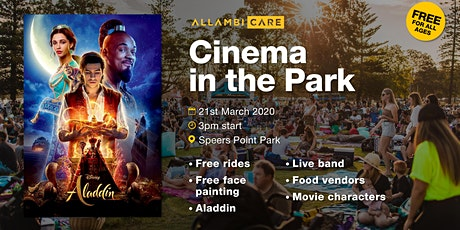 Cinema in the Park tickets