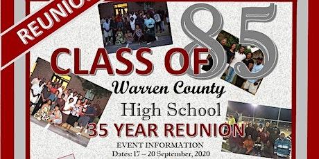 Warren County High School Class of 1985 (35 Year Reunion) tickets