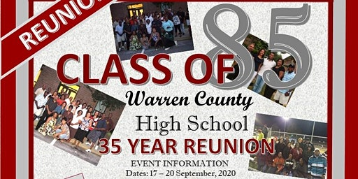 Warren County High School Class of 1985 (35 Year Reunion)