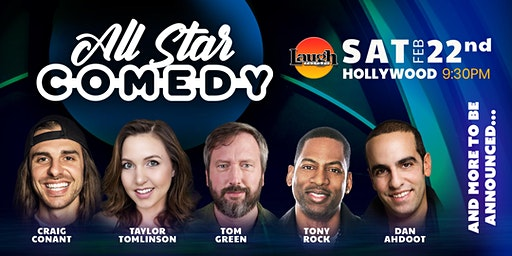 Tom Green, Jeremy Piven, and more - Special Event: All-Star Comedy