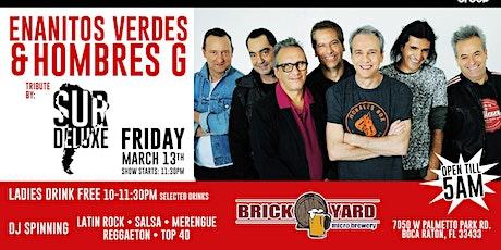 Enanitos Verdes Y Hombres G LIVE TRIBUTE By SURDELUX @ BRICKYARD tickets