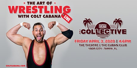The Art Of Wrestling LIVE at The Collective! tickets