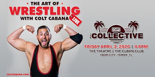 The Art Of Wrestling LIVE at The Collective!