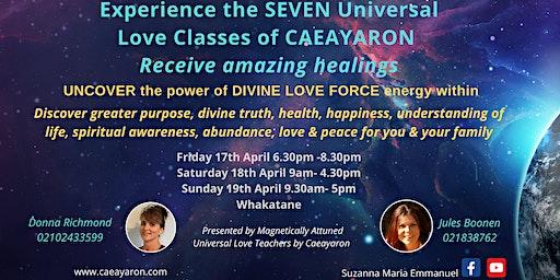 The Spiritual Universal Love Awakening Classes of Caeayaron
