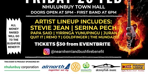 North East Arnhem Land Bushfire Benefit