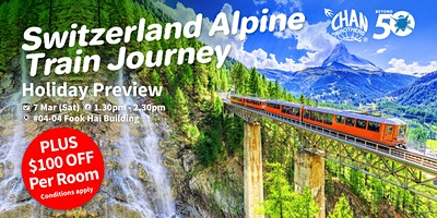 Switzerland Alpine Train Journey Holiday Preview