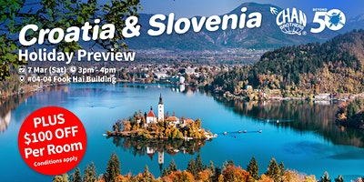 Croatia & Slovenia Holiday Preview