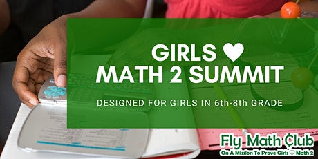 Fly Math Club: Girls Love Math 2 Summit tickets