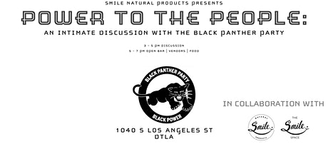 Power To The People: An Intimate Discussion With The BlackPanther Party tickets