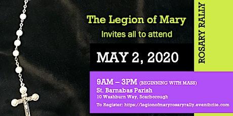 Legion of Mary Rosary Rally tickets