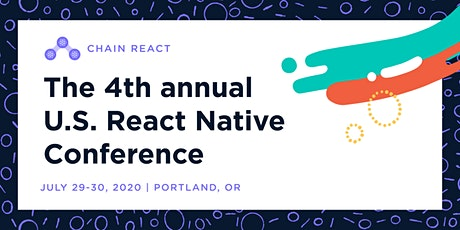 Chain React 2020: The US React Native Conference, Community Through Code tickets