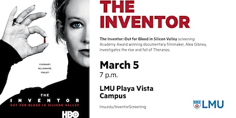 """The Inventor: Out for Blood in Silicon Valley"" - Film Screening tickets"