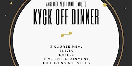 Kyck Off Dinner tickets