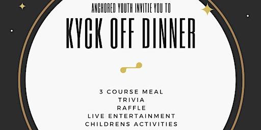 Kyck Off Dinner