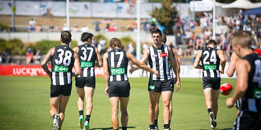 Side by side with Collingwood FC