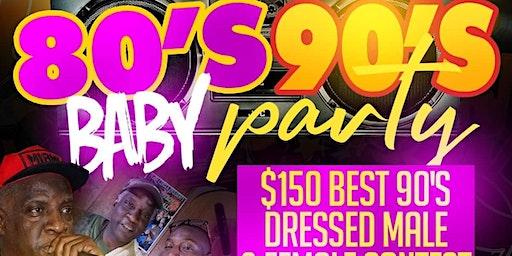 80s Baby 90s Party w/ DJ Slic Vic