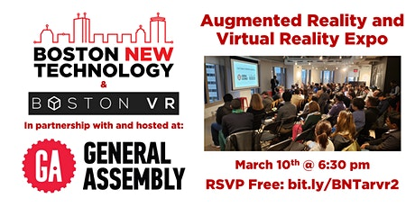 Augmented Reality and Virtual Reality Expo tickets