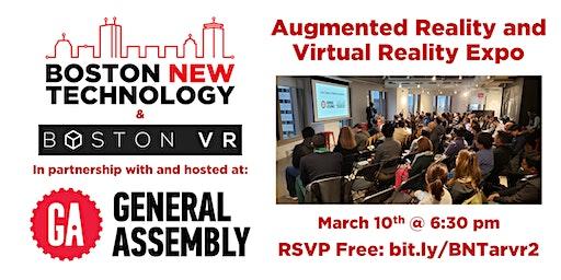 Augmented Reality and Virtual Reality Expo